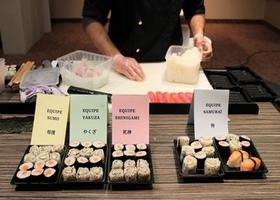 soirée entreprise sushi